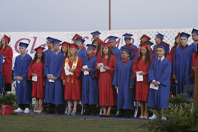 Half of the Strathmore Class of 2013 at graduation ceremony on Friday, May 24th.