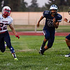 The Strathmore Spartans ran to a 42-6 non-league game victory at Farmersville in both teams' season openers.