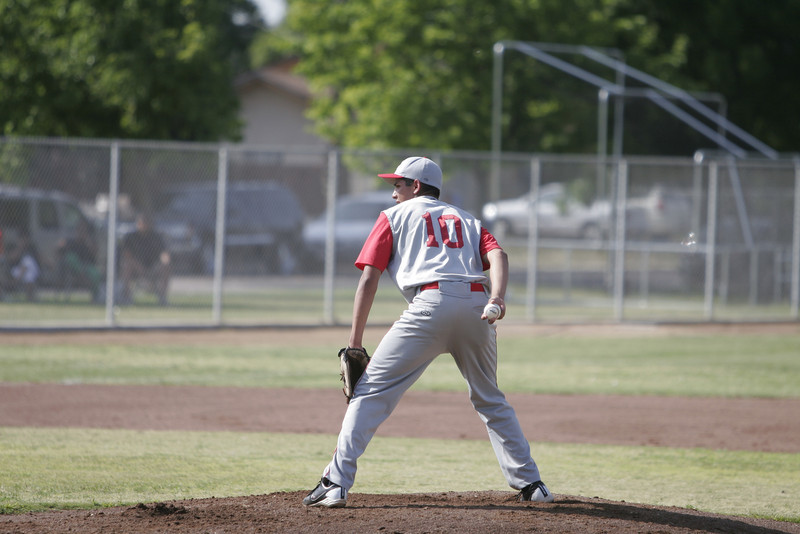 Strathmore pitcher Andrew Avalos pitched 4.1 innings and picked up the win in the Spartan's defeat of Woodlake on May 2nd.