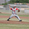 Strathmore Spartan pitcher Andrew Avalos pitched 4 1/3 innings against Woodlake on May 2, 2014 picking up a 3-1 win.