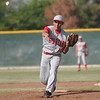 Strathmore pitcher Andrew Avalos threw the Spartans victory over Woodlake on May 2, 2014.