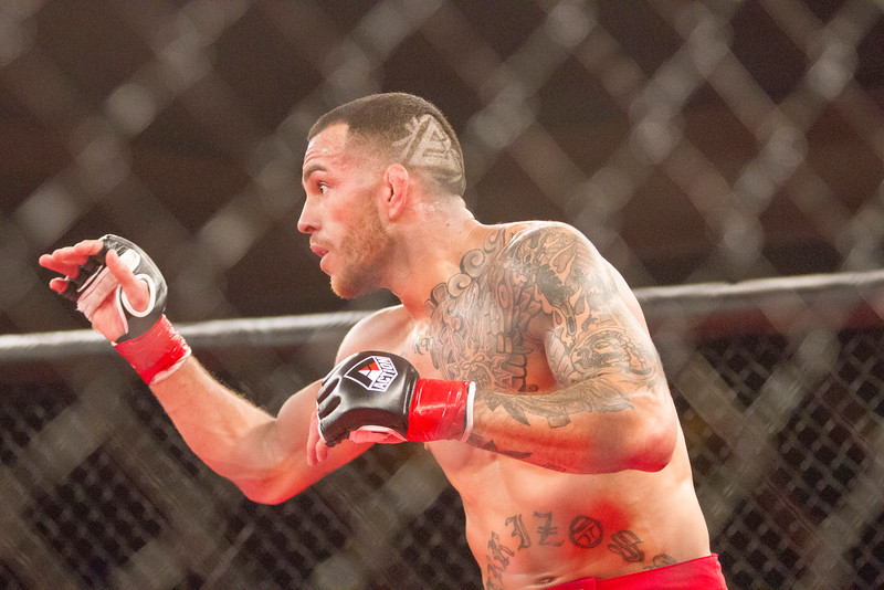 Woodlake's Cain Carrizosa returned to MMA action with Visalia's Elite Team and score a 2nd Round submission via Arm Bar of Matt Hagge in their fight during TPF28 at Tachi Palace.