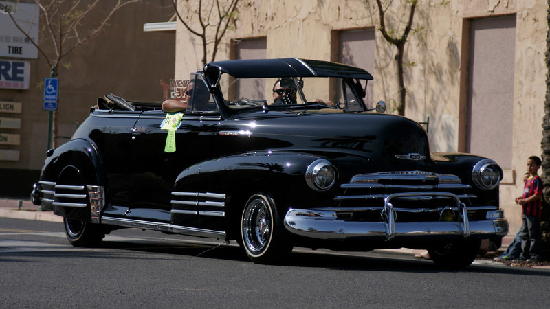 Lindsay's Finest Car Club placed 2nd in the Vehicle division of the Lindsay OBF parade.