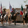 The Charros de la Federacion Mexicana de Charreria group took 1st place in the Equestrian division of the 2014 Orange Blossom Festival parade.