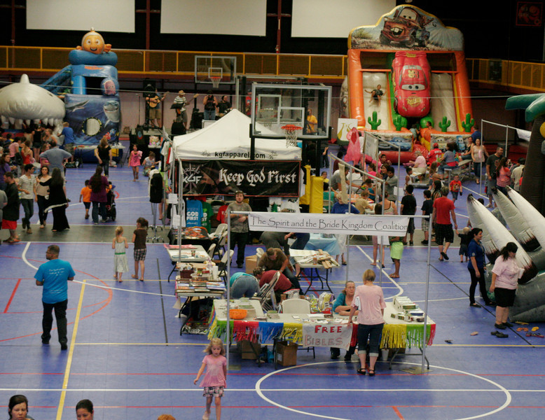 There were many activities for participants of The Spirit and the Bride Kingdom Celebration at McDermont Field House in Lindsay on Saturday, June 14, 2014.