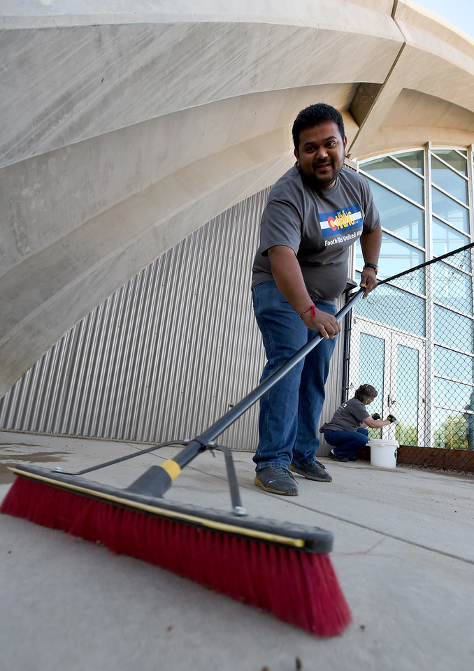 Foothills United Way annual Day of Caring