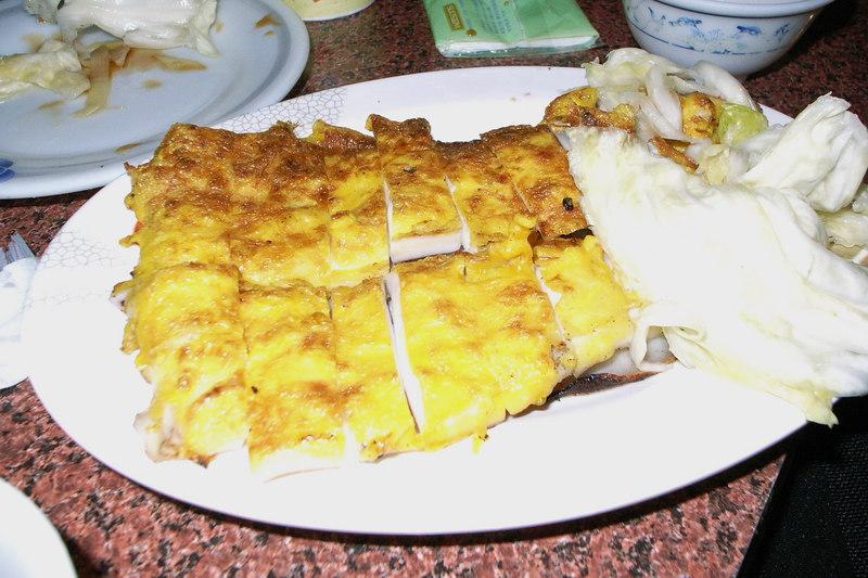 特色菜:蛋烤小卷