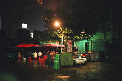 台南中正路巷內的松仔腳燒烤,說是燒烤但不以燒烤為限,算是鄉土味很濃的台式日本料理