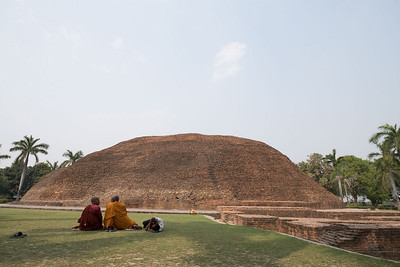 Ramabhar Stupa, Kushinagar (where the Buddha was cremated)