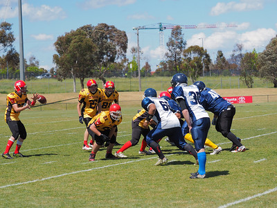 2016   ACT Gridiron Junior Grand Final (part 2)