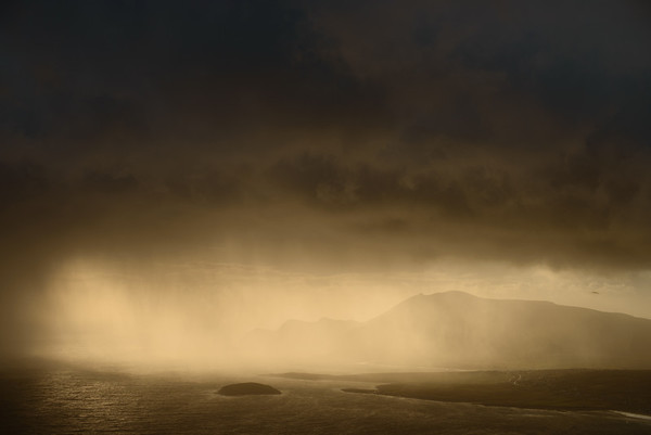"""rains arrive in Achill"""
