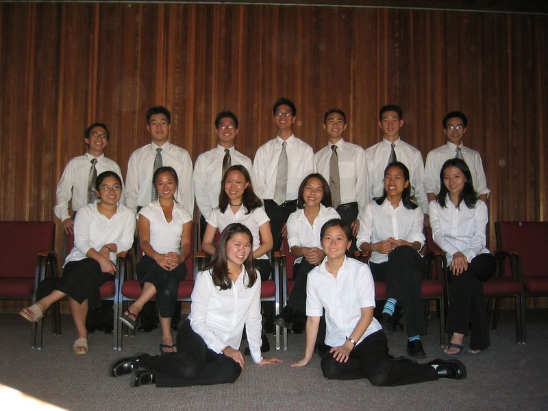 2003 10 12, Sunday @ Living Water- Normal Group Photo