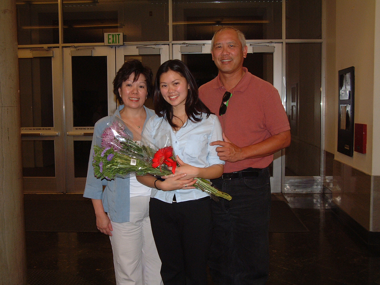Tiffany, mom, & dad