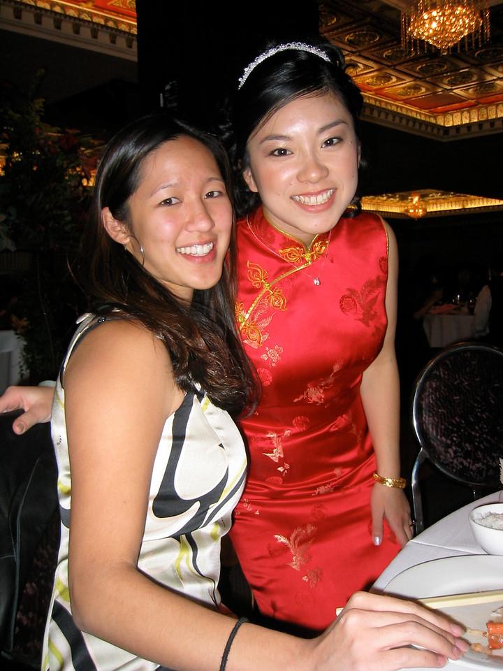 g - Joyce & Janet @ banquet