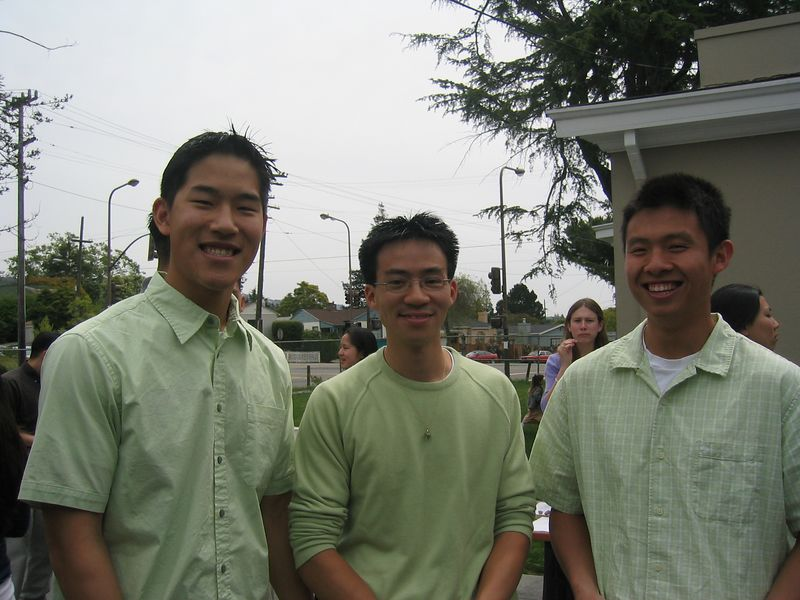 Giddy Green Guys @ Berkeley Mosaic Easter Service, 4-20-2003