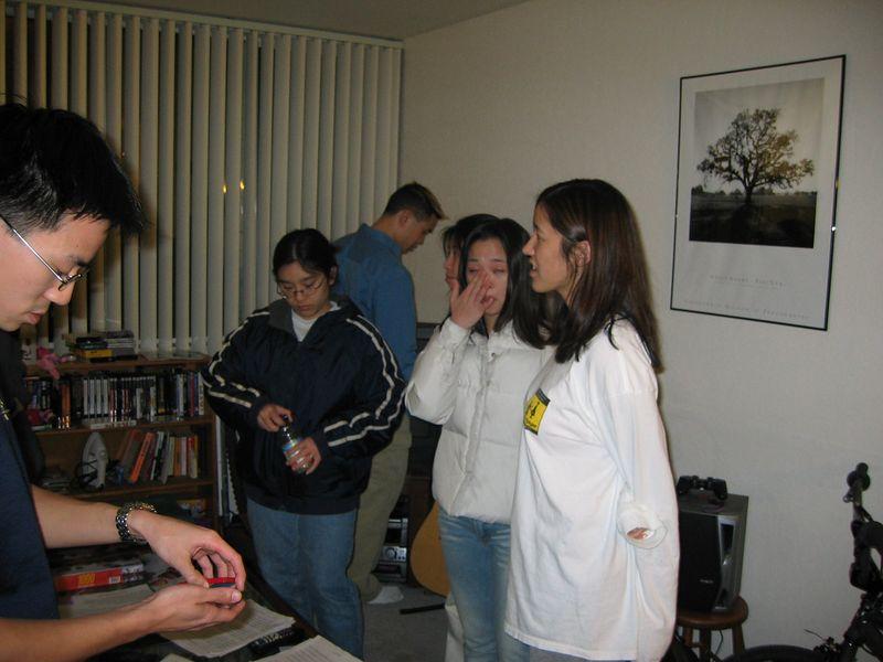Yu, Janet, Poon, Staci, Theresa, Joyce, 2-9-2003