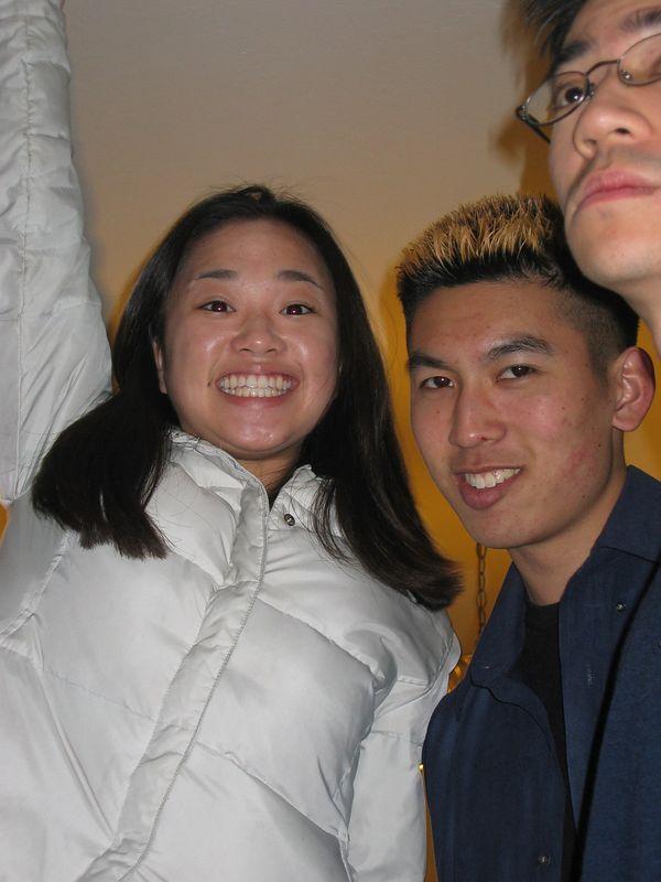 Theresa, Dave, Yu, 2-9-2003