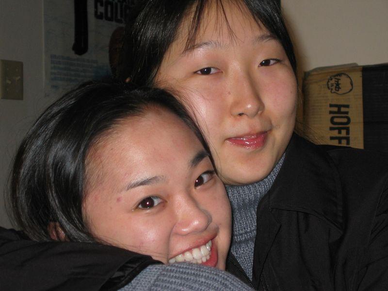 Theresa & Staci, 2-9-2003