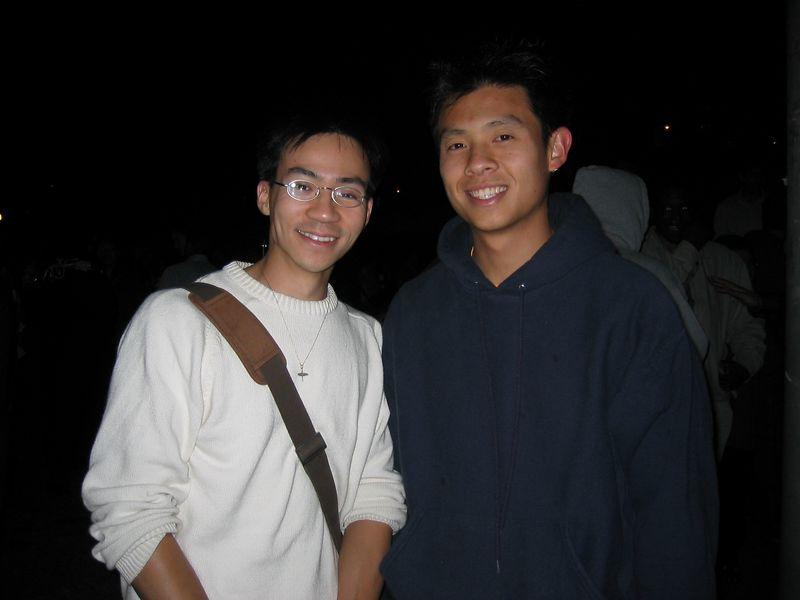 MCB graduation 2003 - Ben & Chris Ling, Friday 5 23 2003