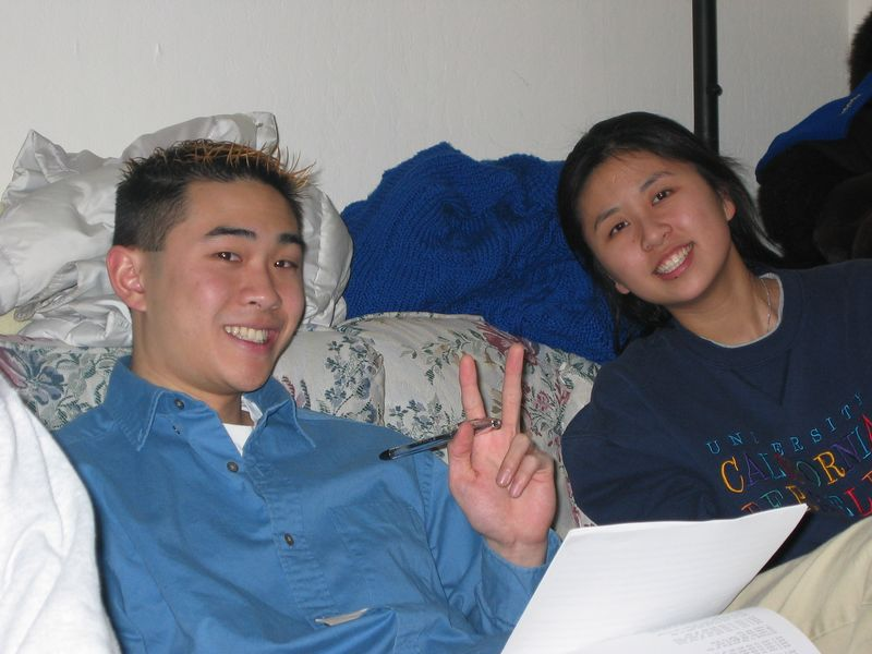 Poon & Windy, 2-9-2003