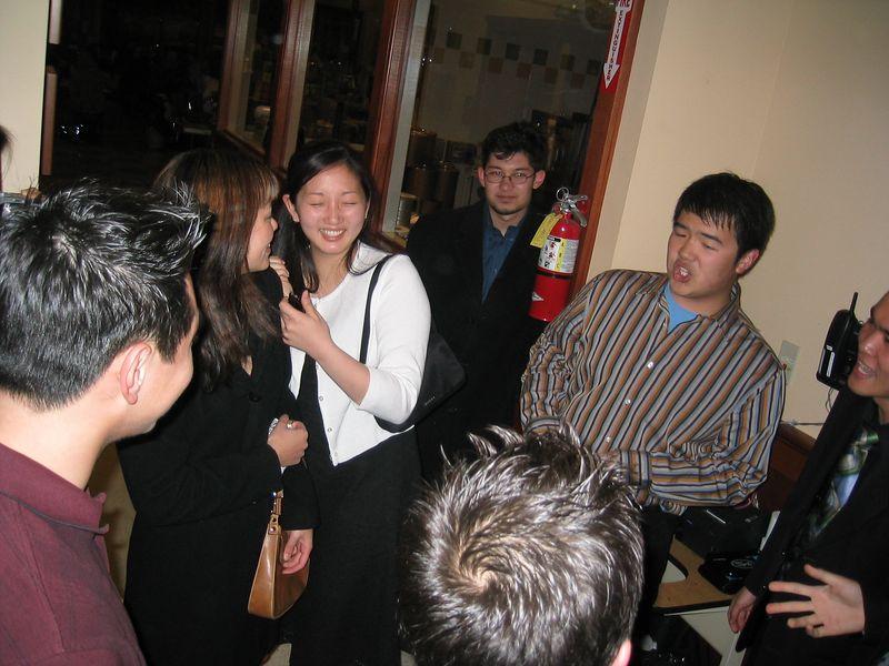 2005 03 28 Monday - Lydia's surprise b-day @ Fenton's 1