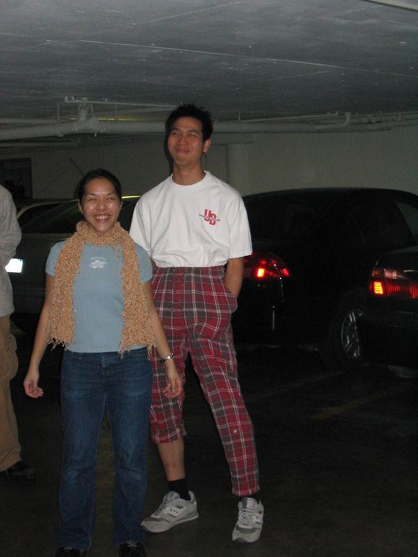 2004 03 07 Sunday - Grace Chen & a stylin' Jon Chun