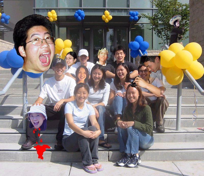 2003 10 4 - Photoshop'ed Group Pic @ Super DC