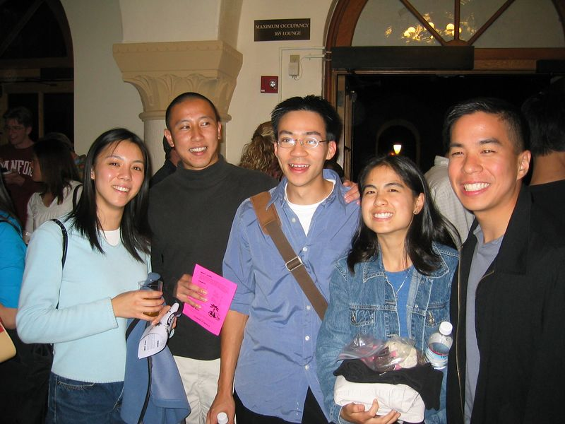 Amy Lu, Mike Lee, Ben Yu, Audrey Chiang, & Andrew Huang 2