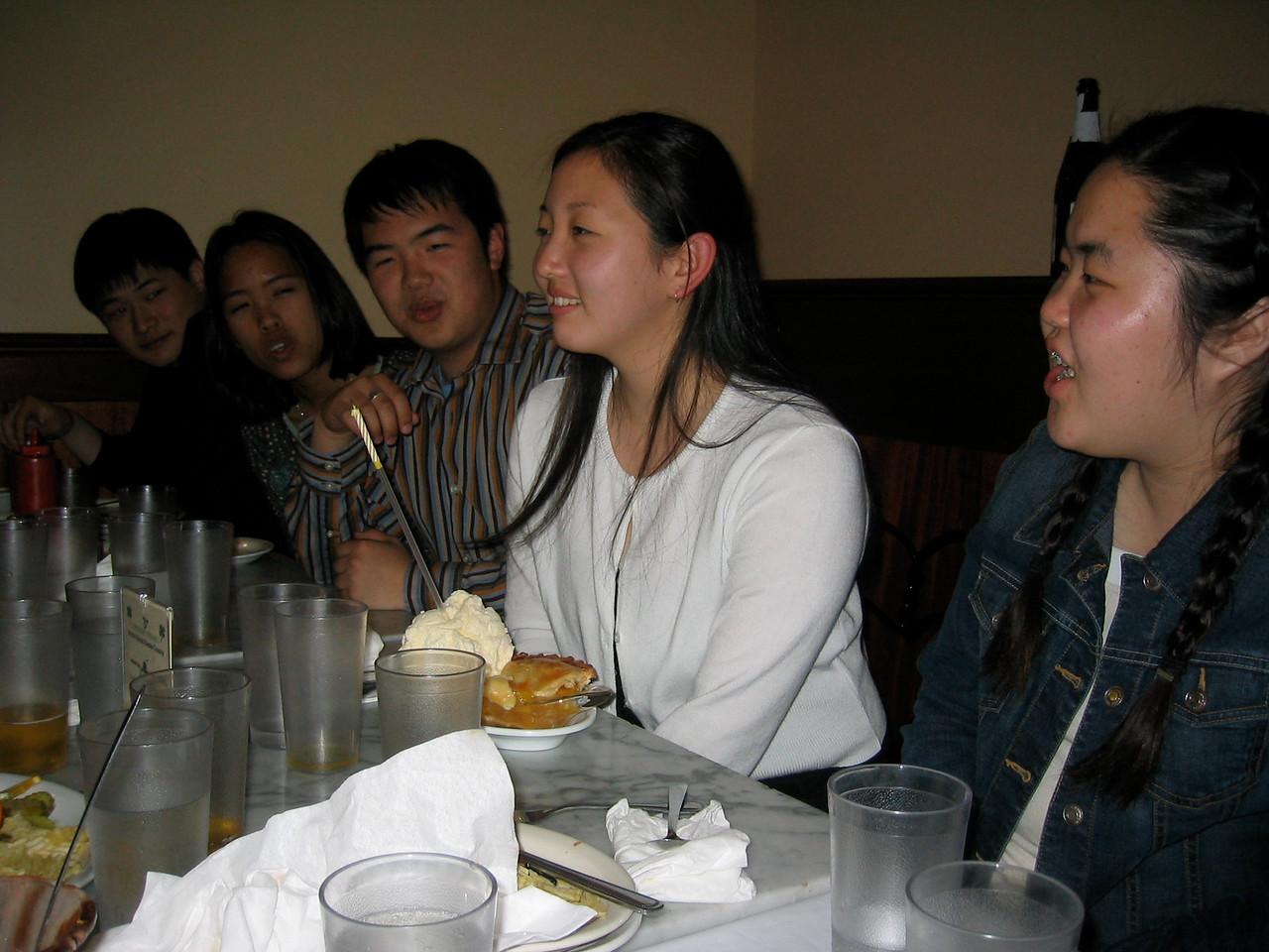 2005 03 28 Monday - Lydia's surprise b-day @ Fenton's 2