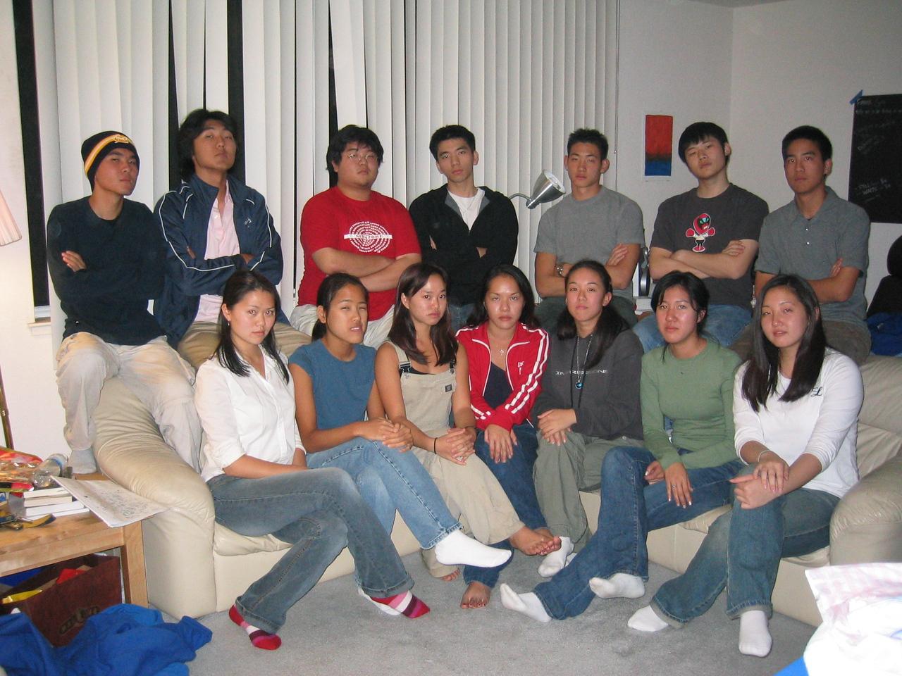 2004 10 17 Sunday - FCS Fall 2004 mug group pic