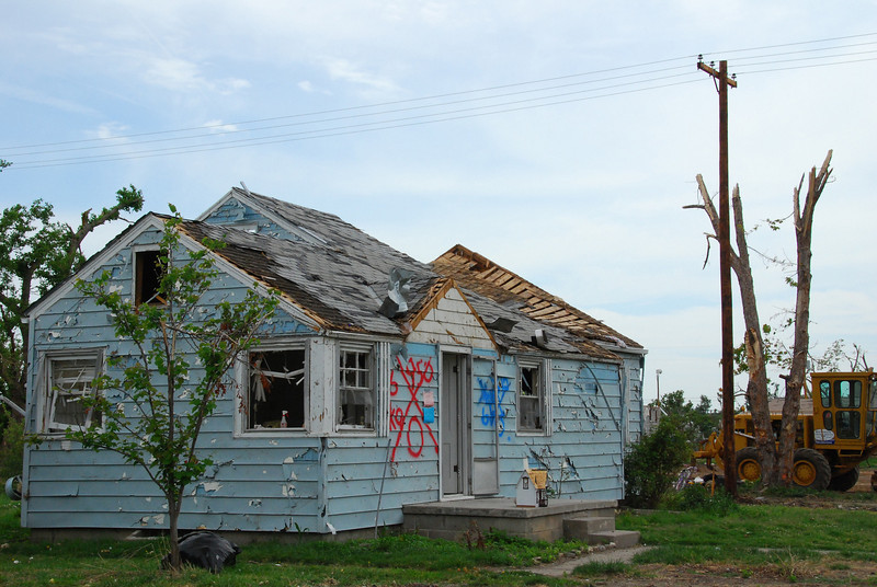 tornado was here