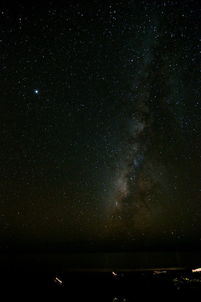milky way<br /> <br /> (Jupiter is the bright star)