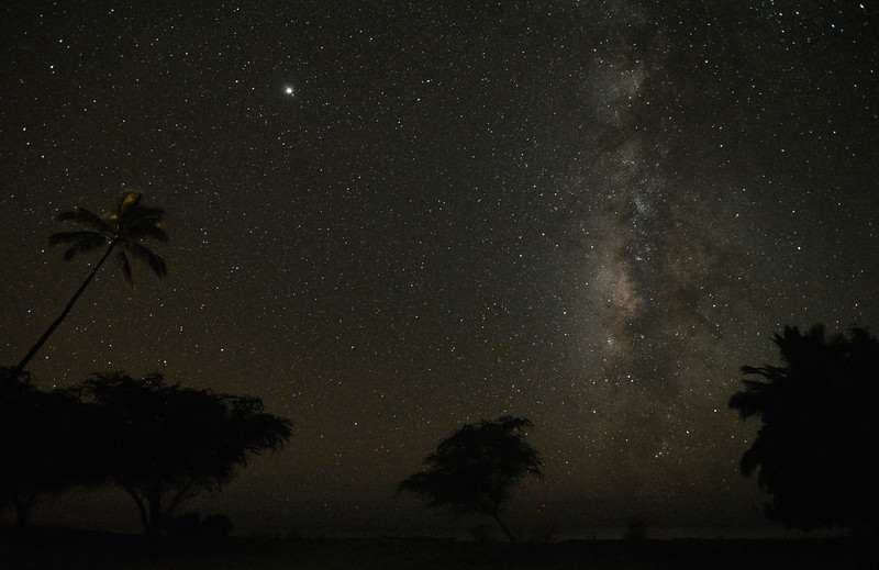 jupiter and the milky way