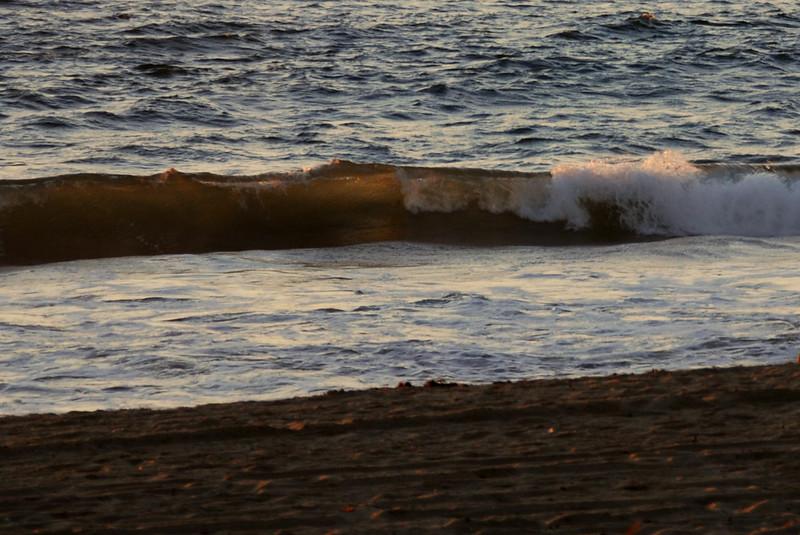 light through a wave