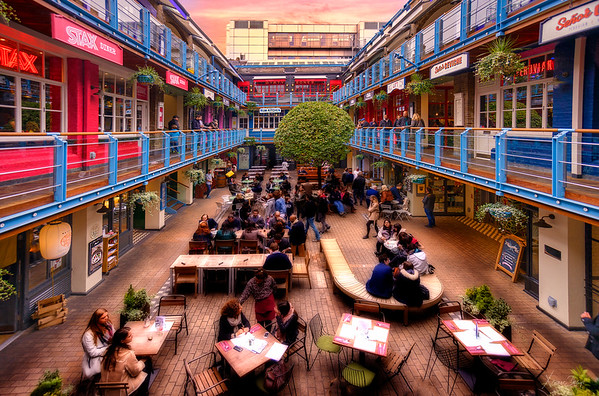 Kingly Court, Carnaby street, London