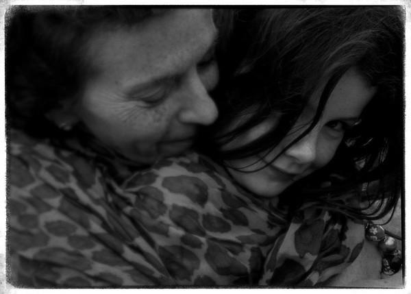Lílí and her grandma