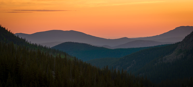 Deep Orange Arapahoe Sunrise