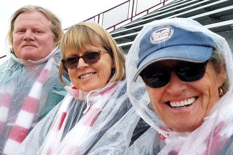 Joe, Anne, and Mary <br /> Badger game 10/2019
