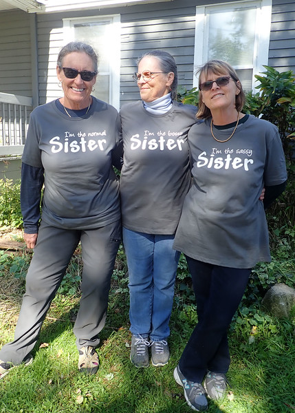 Mary, Janet, Anne on the farm near Janesville<br /> 10/2019