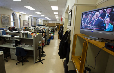 Press Gallery hotroom February 2016--Photo/Fred Chartrand