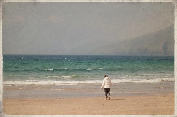 mom, Slea Head, County Kerry, Ireland 2012
