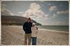 mom & me, Keel Beach, Achill Island, 2012