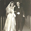10 Wedding 1949 Aisle black n'white