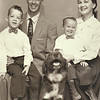 22 Family Portrait with Dog Dade City 1957