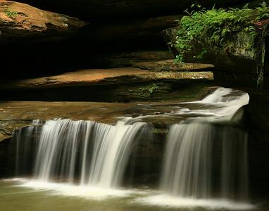 Middle Falls - Hocking County, Ohio
