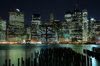 Manhattan at Night - New York, New York