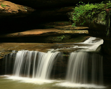 Middle Falls - Hocking County, Ohio