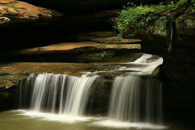 Mid-Falls - Hocking County, Ohio
