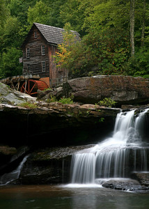 Glade Creek Grist Mill - Babcock State Park, WV
