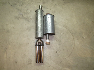 Dealstable and Opel Mufflers